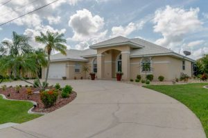 AMAZING LOCATION...Updated Waterfront Home Punta Gorda Isles