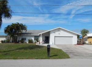 Perfectly Located Punta Gorda Waterfront Pool Home