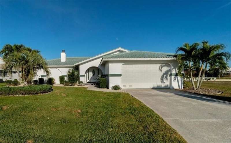 Nicely Updated Waterfront Punta Gorda Isles Home