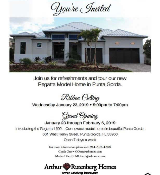 Arthur Rutenberg Homes Ribbon Cutting