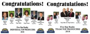 Top Agent- Fourth Quarter Recognition website edit