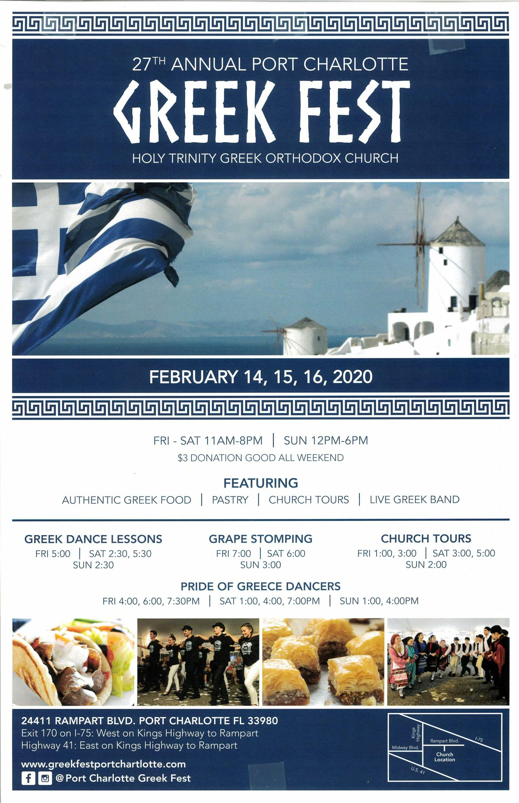 27th Annual Port Charlotte GREEK FEST