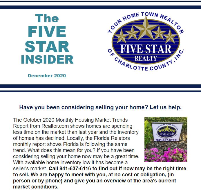 The latest edition of the Five Star Insider is here!