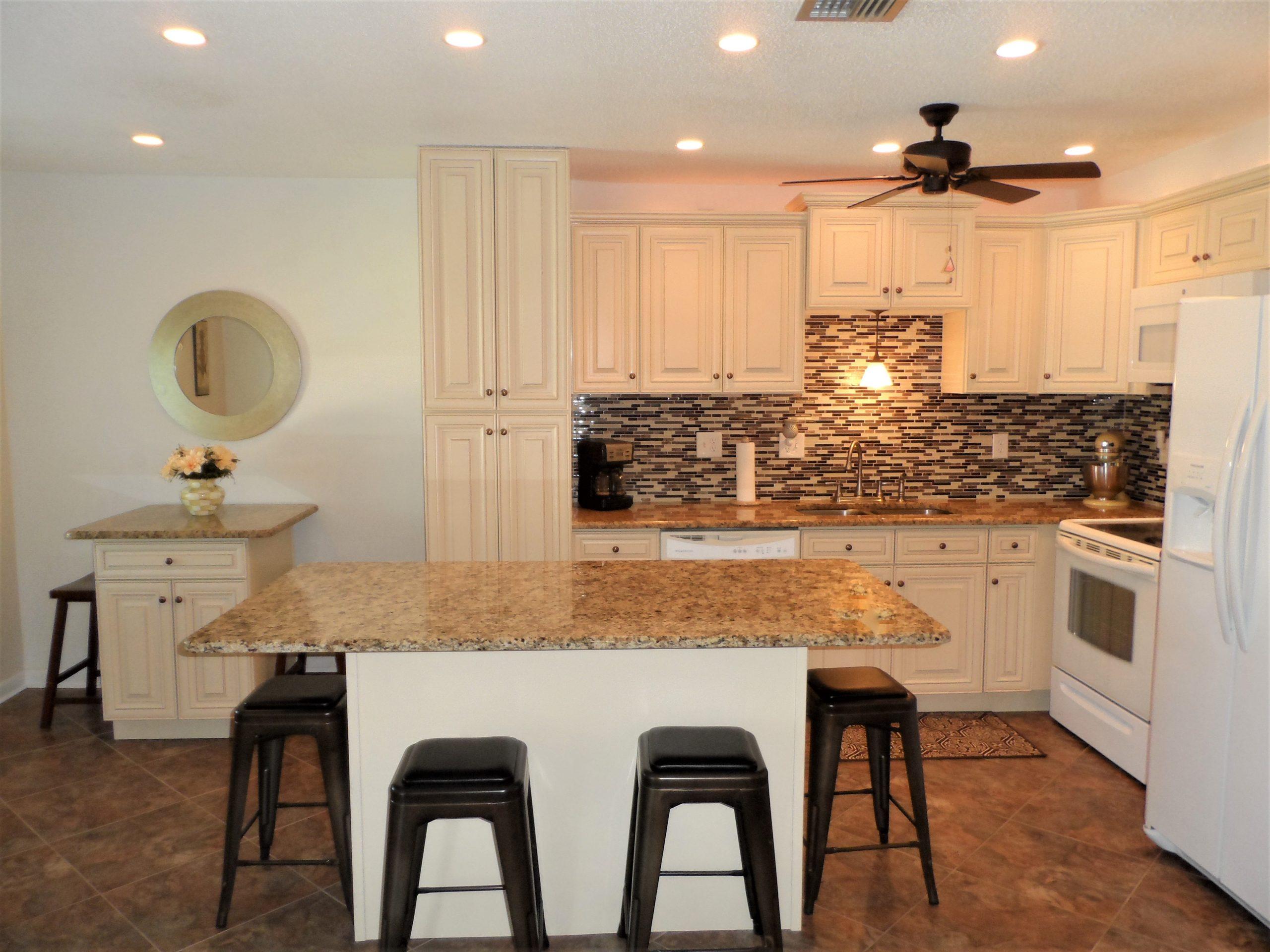 Kitchen of 22333 Edgewater Drive Unit D3 Port Charlotte, FL